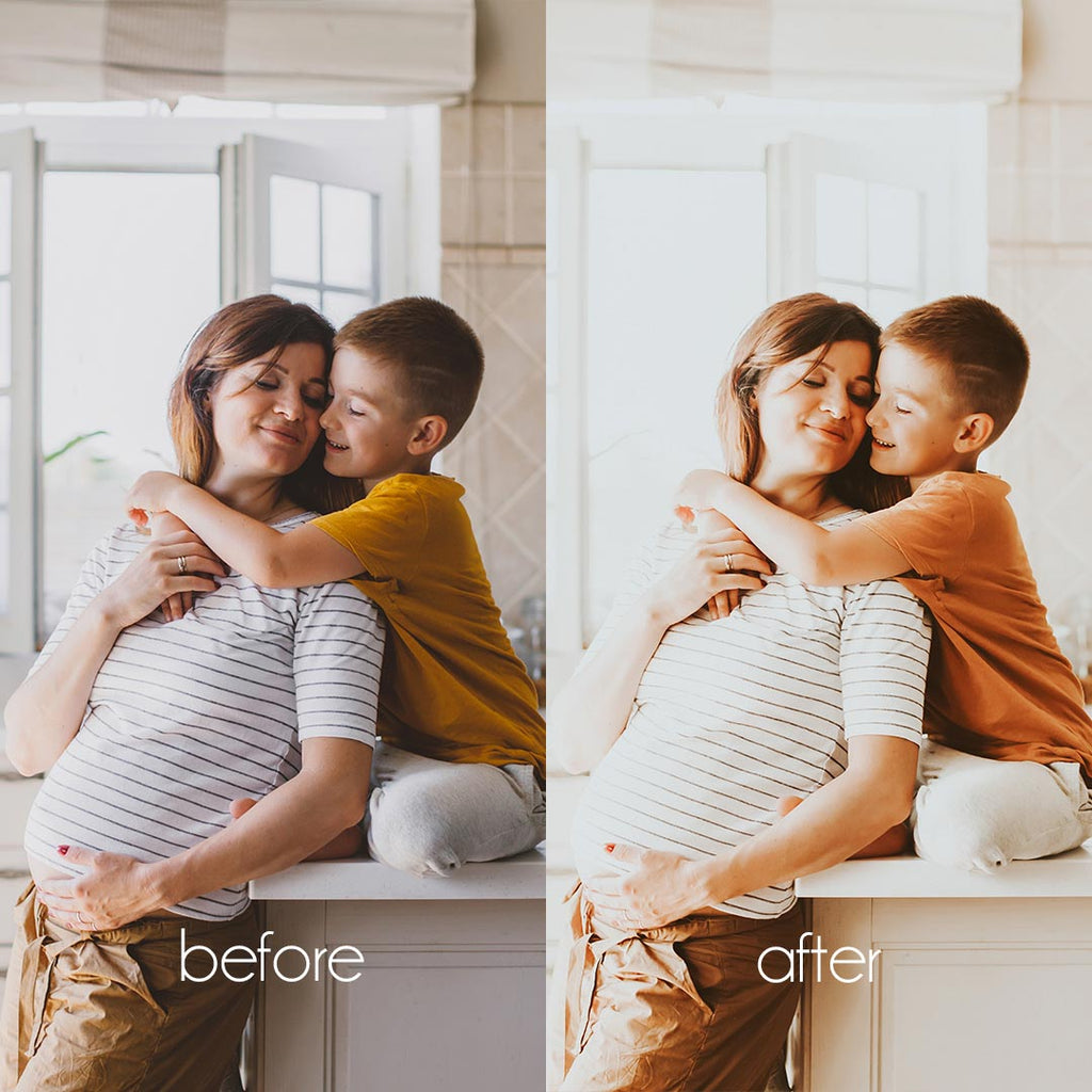BRIGHT MOM (Mobile + Desktop Lightroom Presets)
