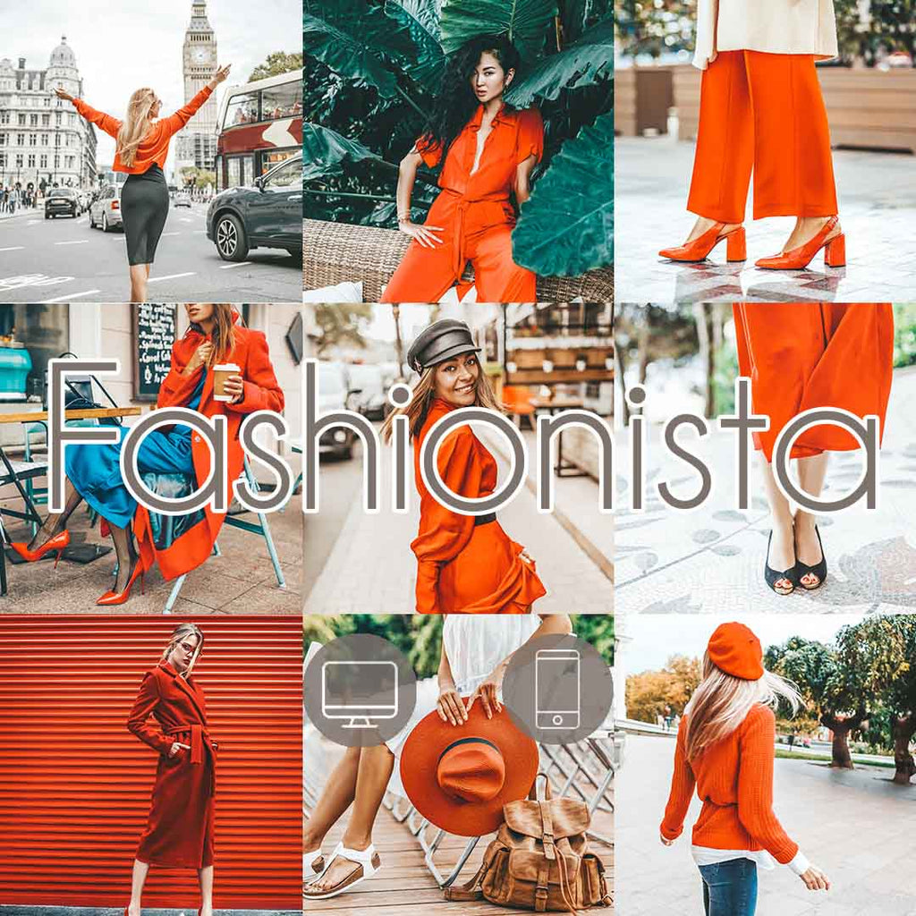 FASHIONISTA (Mobile + Desktop Lightroom Presets)
