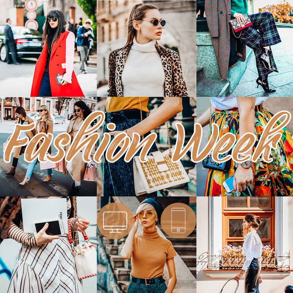 FASHION WEEK (Mobile + Desktop Lightroom Presets)
