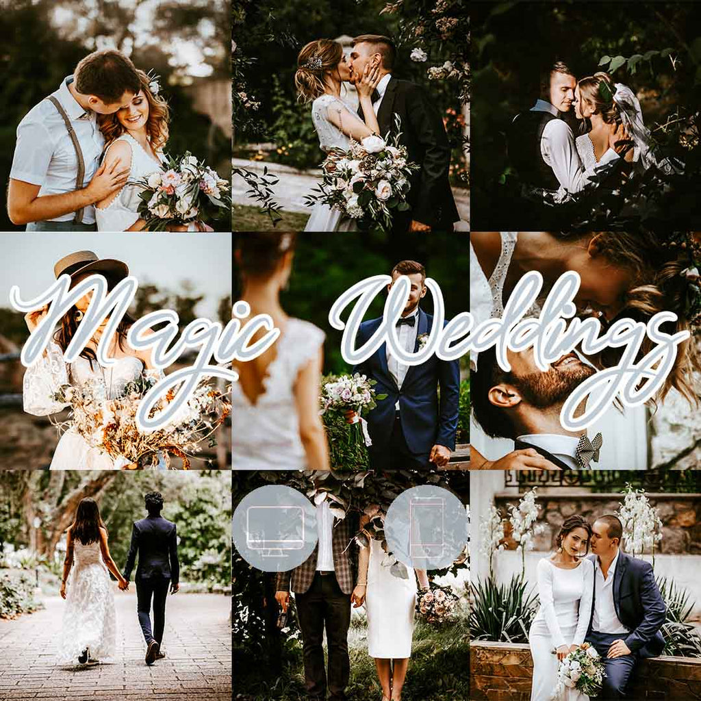MAGIC WEDDINGS (Mobile + Desktop Lightroom Presets)
