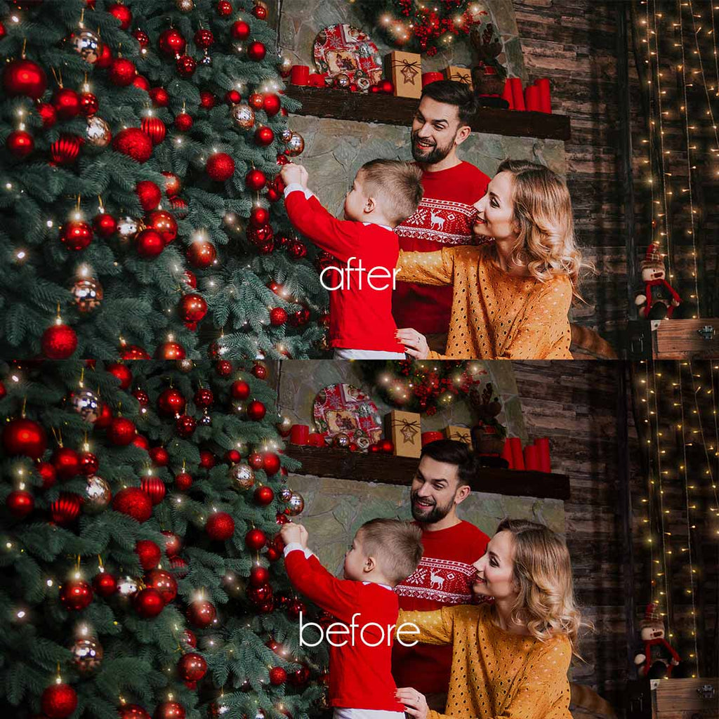 MAGIC CHRISTMAS (Mobile + Desktop Lightroom Presets)