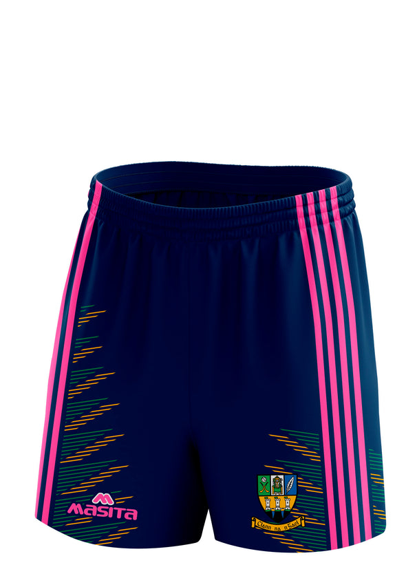 Clann na nGael Pink Training Shorts Kids