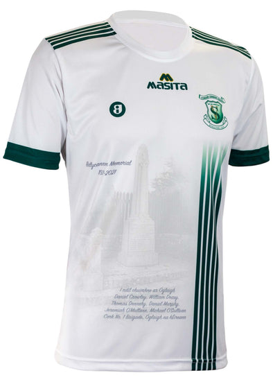 St Vincent's White Commemorative Jersey Player Fit Adult