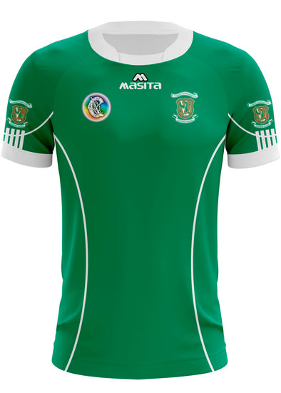 St Vincent's Camogie Home Jersey Player Fit Adult