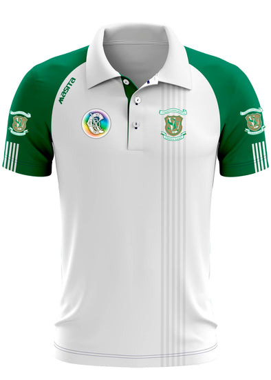 St Vincent's Camogie Polo Shirt Regular Fit Adult