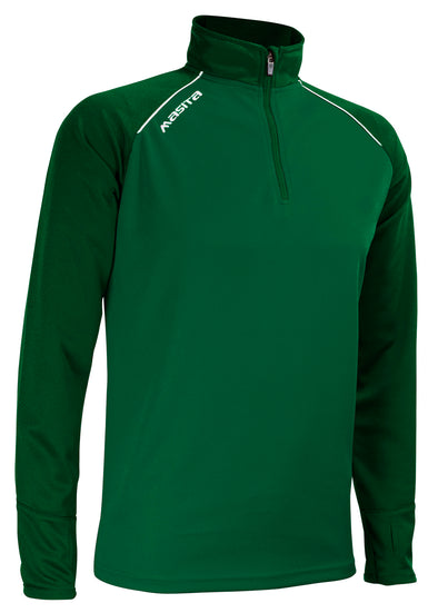 Supreme Half Zip Green/White