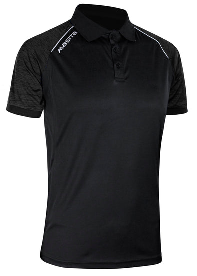 Supreme Polo Shirt Black/White