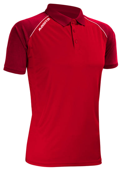 Supreme Polo Shirt Red/White