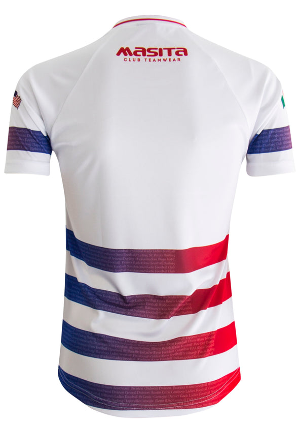 USGAA Hooped Jersey Player Fit Adult