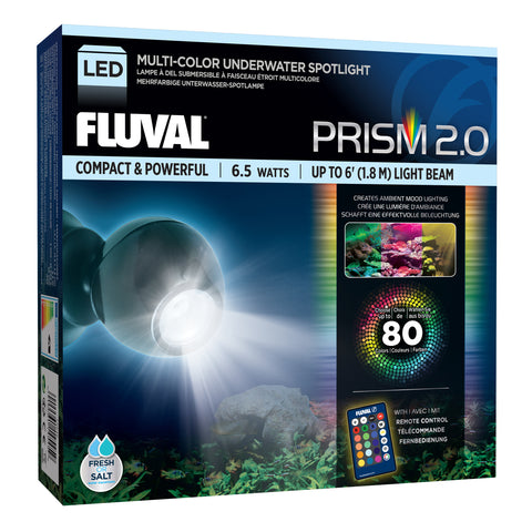 Fluval Prism Multi-Color Underwater Spotlight LED