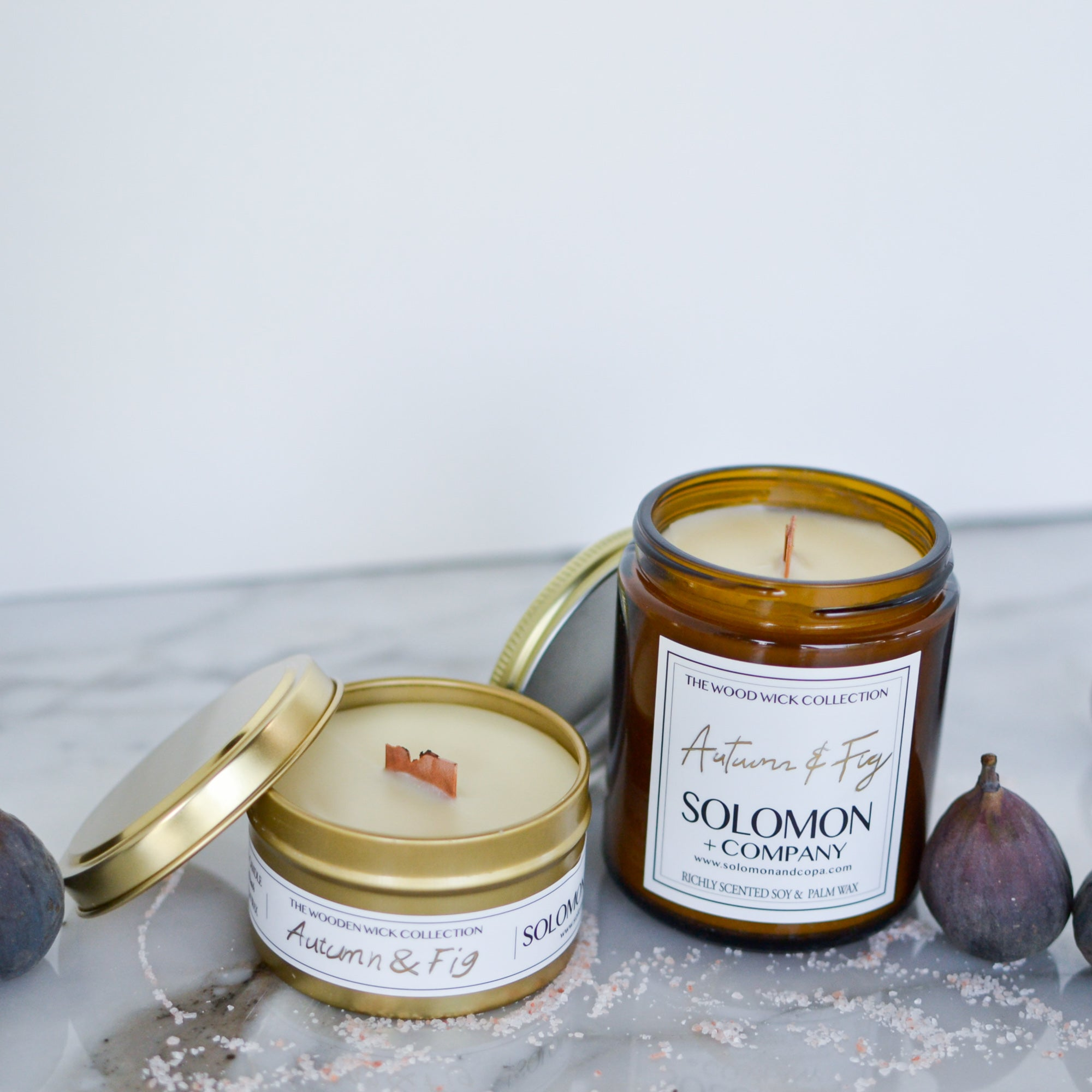 Autumn and Fig Candle Collection