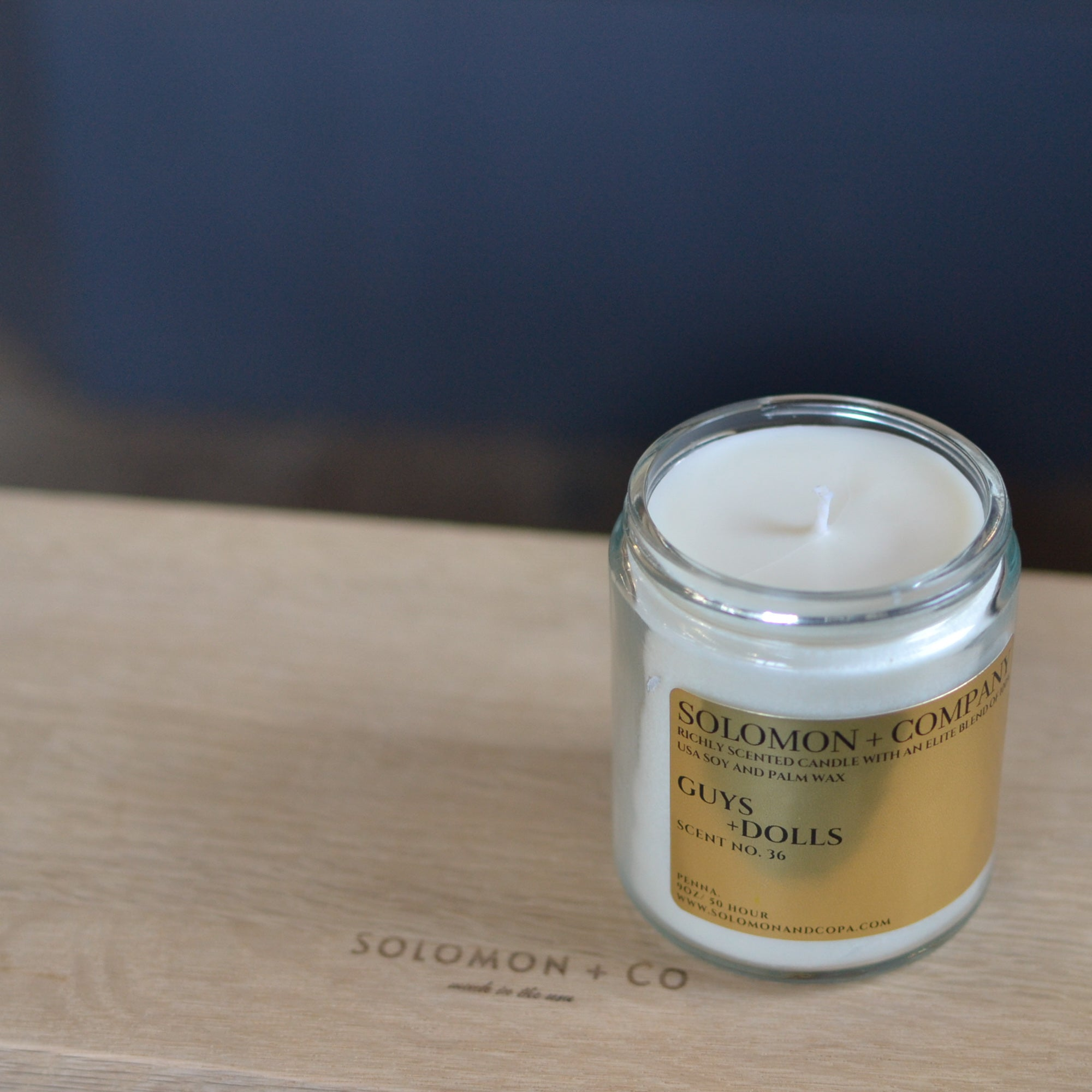 Guys and Dolls Soy Candle Collection