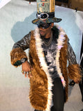 Golden Empire | Couture Light Up Playa Coats designed by Burners - Prosperity.World