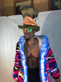 Rainbow Splash | Couture Light Up Playa Coats designed by Burners - Prosperity.World