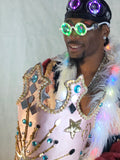 Silky Spots | Couture Light Up Playa Coats designed by Burners - Prosperity.World