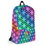 Backpack: Flower of Life & Prosperity - All-Over Print Backpack