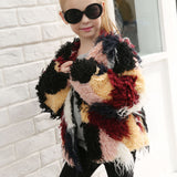 Coat | Divine Children's Burner Long Sleeve Faux Fur Coat