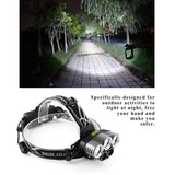 Rechargeable LED Headlamp | 18650 Batteries