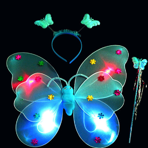 Fly Away Burner Wand | Butterfly Wings, Wand & Headband Set