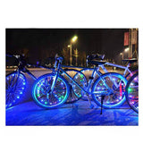 Waterproof LED Tire Bike Lights | Available in Red or Multicolor