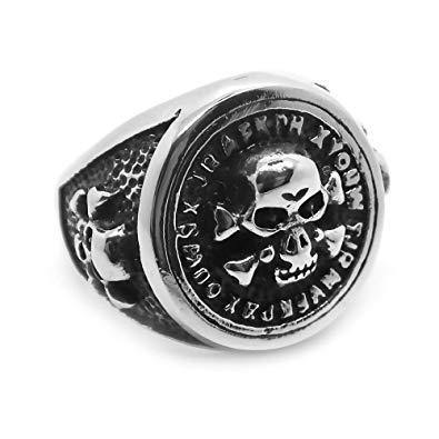 Skull and Bones - Badass Biker Jewelry Emporium