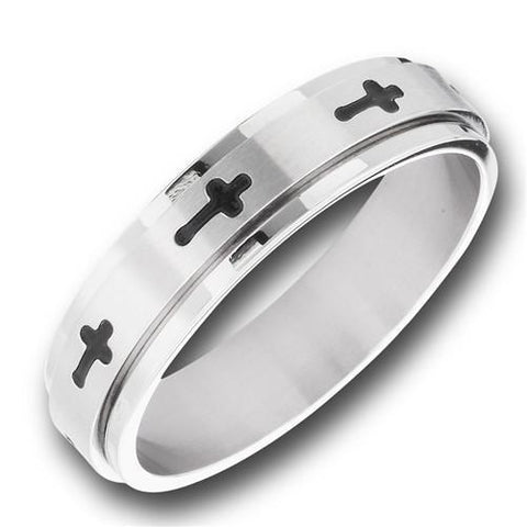 Stainless Steel Cross Spinning Ring