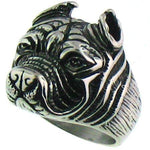 Pit Bull Stainless Steel Ring