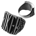 Bike Gang MC Club Ring (Stainless Steel)