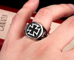 Awesome Iron Cross Ring