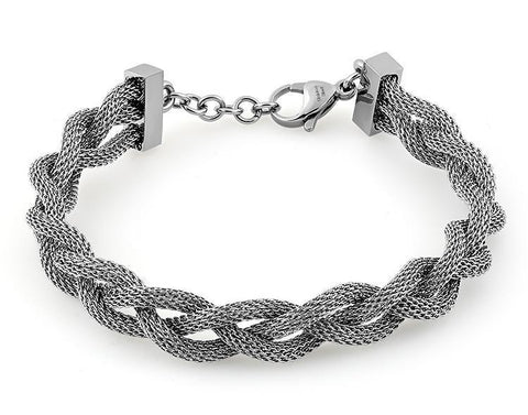 Stainless Steel Braided Mesh Bracelet