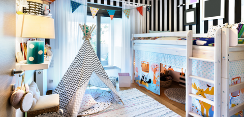 Loft Beds for kids versus bunk beds