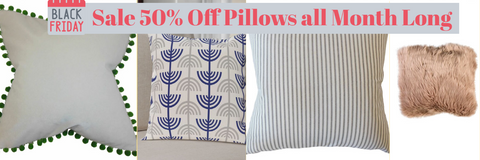 Black Friday Sale on pillows