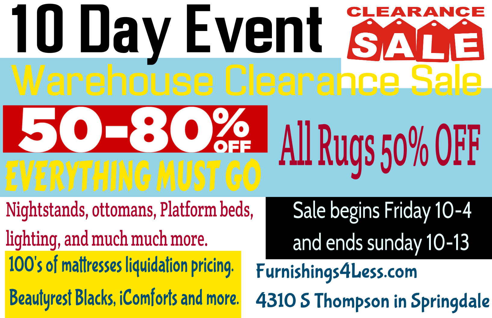 Rug and mattresses at best prices. Platform beds nightstand and more furniture.