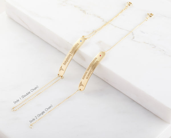 Dainty Medical ID Bracelet