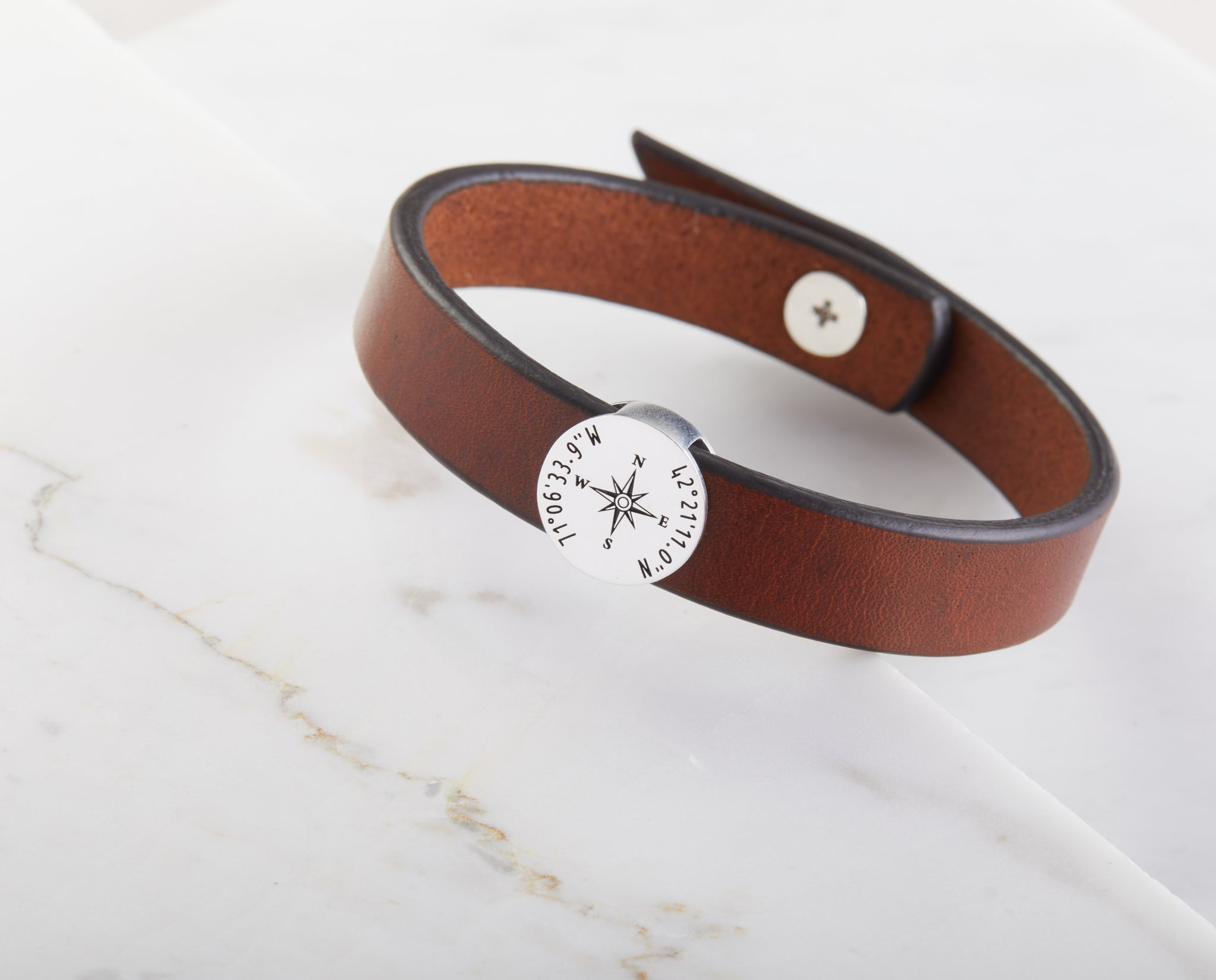 Coordinate Leather Bracelet