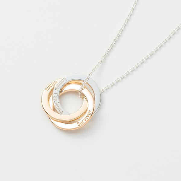 Personalized Circle Necklace