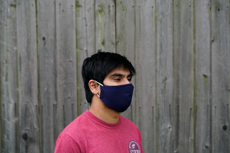 Reusable & Washable Nonmedical Mask with Nose Wire