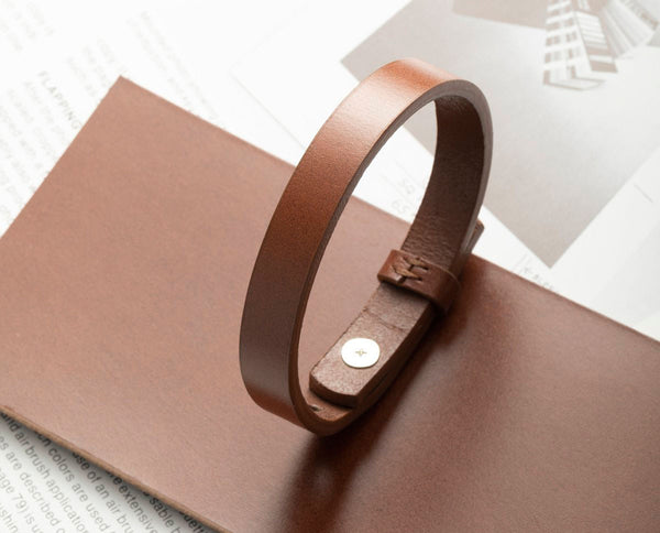 Italian Vegetable Tanned Leather Bracelet