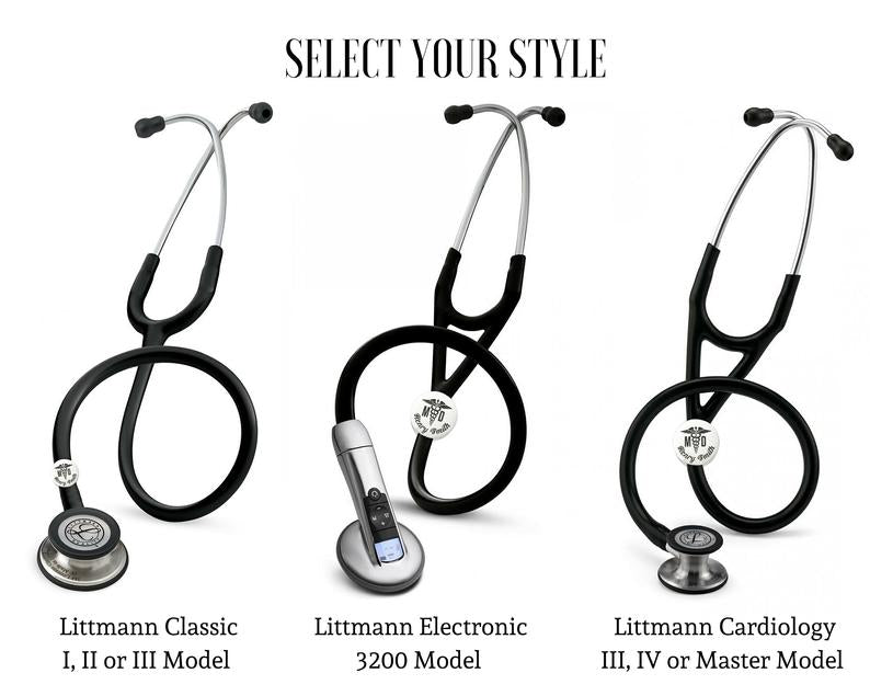 Personalized Stethoscope Tag
