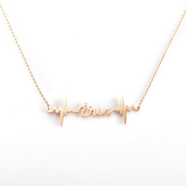 Custom Heartbeat Necklace