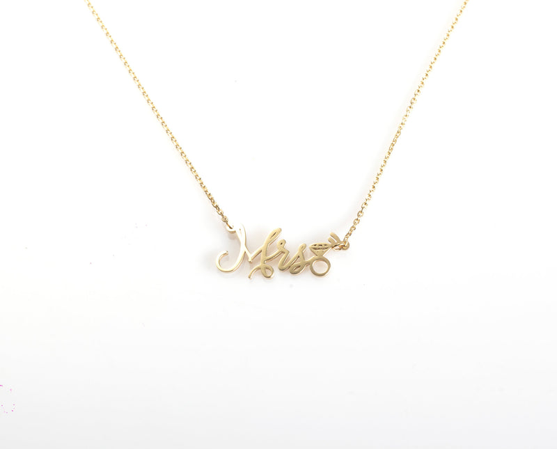 Future Mrs Necklace