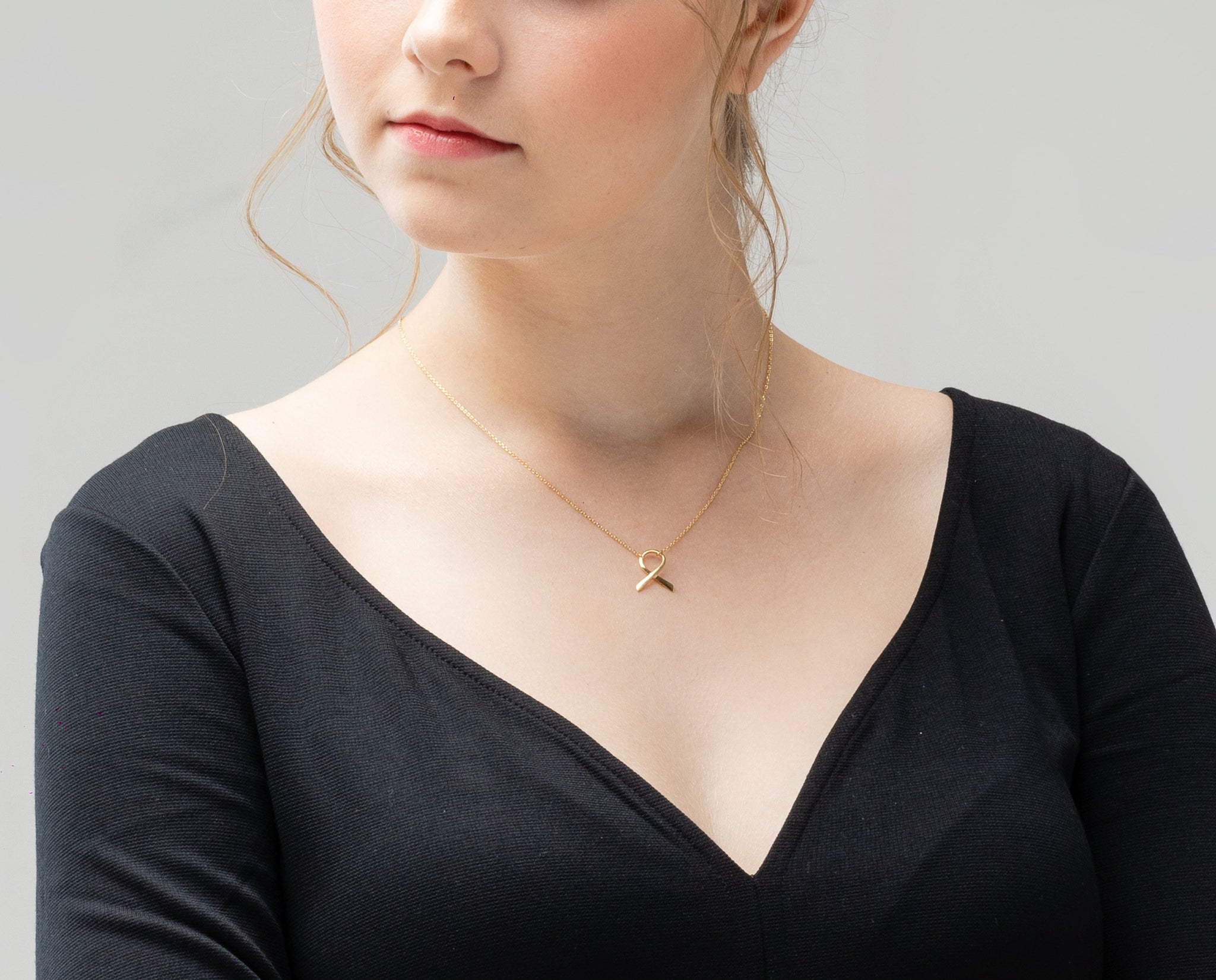 Dainty Delicate Ribbon Necklace