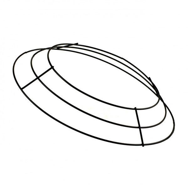 "10"" Wire Wreath Frame X3, Black ***Add 25' PVC Roping, 2 ply, $2.25 AFTER 50% OFF!!***"