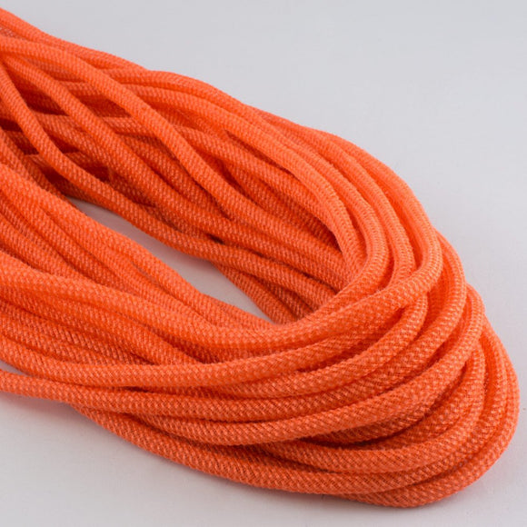 8mmx30yd Faux Jute Flex Tubing, Orange  MA