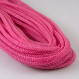 8mmx30yd Faux Jute Flex Tubing, Dark Pink ***ARRIVING FEB 2021***