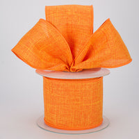 "2.5""X50yd Royal Burlap, Orange S45"
