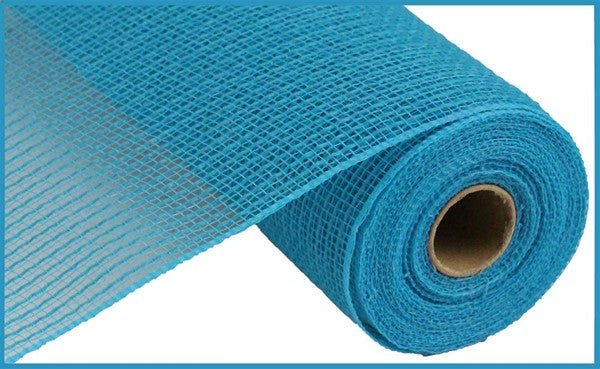 "10.5""x10YD Stripe Fabric Mesh, Turquoise T"