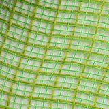 "10.5""x10yd Faux Jute Check Fabric Mesh, Fresh Green"