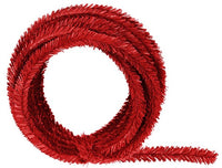 25' PVC Roping, 2 ply, Red