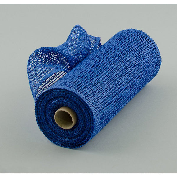 "10""X10yd Poly Burlap Mesh, Royal Blue"
